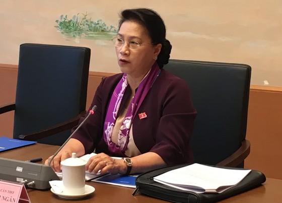 Chủ tịch Quốc hội Nguyễn Thị Kim Ngân: Đầu tàu mà chậm thì sao cả nước đi nhanh được ảnh 1