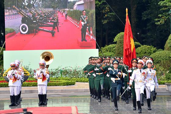 Lễ đón chính thức Tổng Bí thư, Chủ tịch nước Trung Quốc Tập Cận Bình ảnh 3
