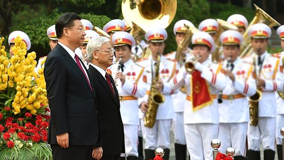 Lễ đón chính thức Tổng Bí thư, Chủ tịch nước Trung Quốc Tập Cận Bình ảnh 1