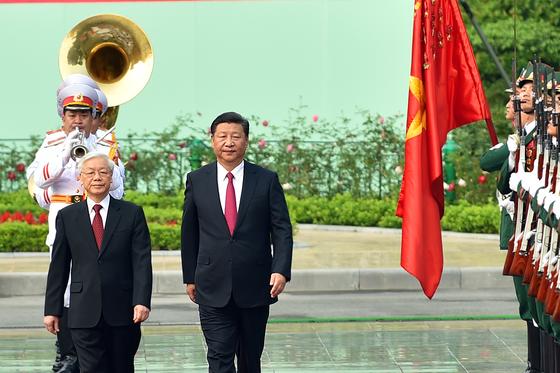 Lễ đón chính thức Tổng Bí thư, Chủ tịch nước Trung Quốc Tập Cận Bình ảnh 2