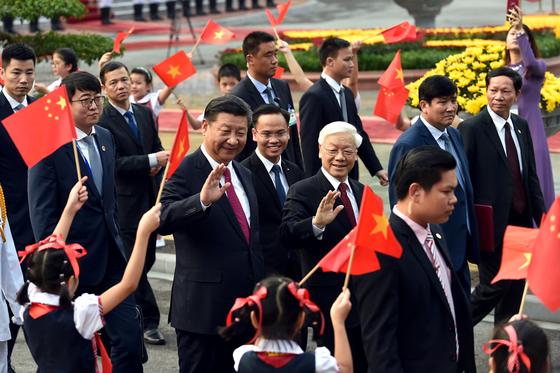 Lễ đón chính thức Tổng Bí thư, Chủ tịch nước Trung Quốc Tập Cận Bình ảnh 4