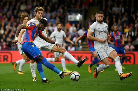 Vòng 8, Crystal Palace - Chelsea 2-1: Trận thua thảm họa của The Blues! ảnh 1