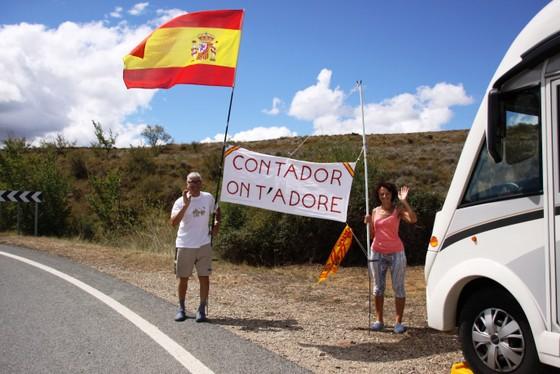 Vuelta a Espana 2017: Contador không buông bỏ hy vọng ảnh 2