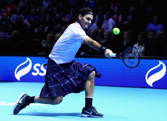 Sau trận giao hữu với Federer, Murray lại trở thành cha ảnh 2
