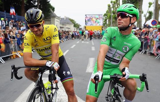 """Xe đạp: Sagan được giải oan vụ """"ép xe"""" Cavendish ở Tour de France ảnh 1"""