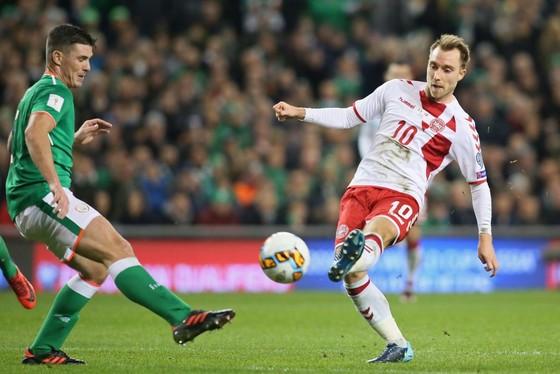 Play-off World Cup 2018: Eriksen ghi hattrick giúp Đan Mạch hạ nhục Ailen ảnh 2