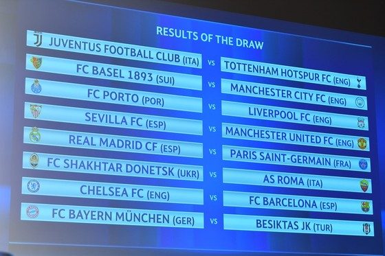 Bốc thăm Champions League: Real Madrid đụng độ PSG, Chelsea gặp lại Barcelona ảnh 1