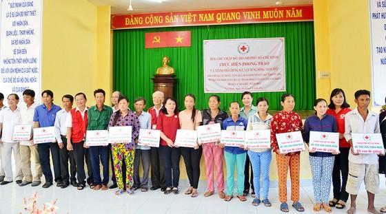 Hội Chữ thập đỏ TPHCM chung sức xây dựng nông thôn mới ảnh 3