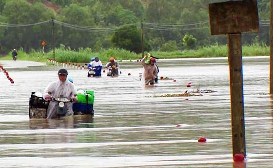 Phú Yên: Hàng trăm hộ dân chìm ngập trong biển lũ ảnh 4