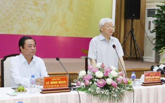"""Tổng Bí thư Nguyễn Phú Trọng khen ngợi mô hình """"Hội quán"""" của Đồng Tháp  ảnh 1"""