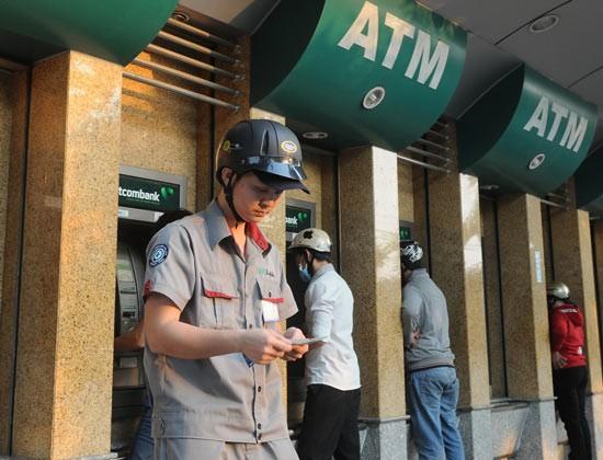 Đảm bảo đủ tiền mặt và an ninh ATM ảnh 1