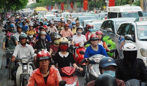 'Thủ phạm' kẹt xe sân bay Tân Sơn Nhất cận Tết ảnh 1