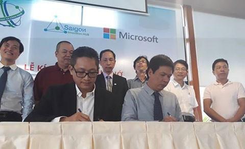Microsoft hỗ trợ start up trong lĩnh vực CNTT ảnh 1