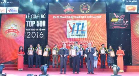 ITL Corp lần thứ 2 vinh doanh Top 50 DN xuất sắc ảnh 1
