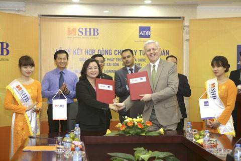 ADB tiếp tục cung cấp vốn vay thương mại cho SHB ảnh 1