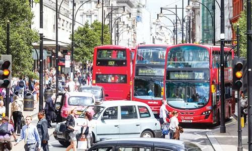 """London thu """"phí độc hại"""" xe cũ ảnh 1"""
