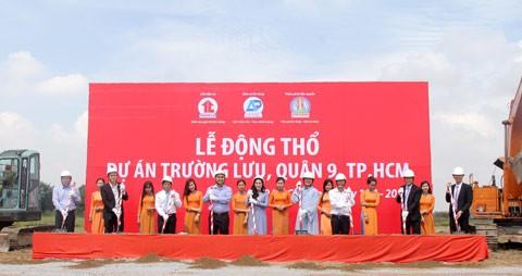 Kim Oanh động thổ dự án KDC Trường Lưu ảnh 1