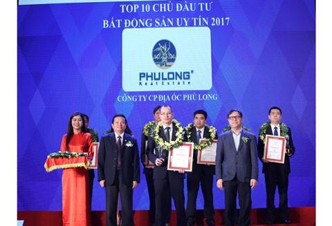 Phú Long lọt Top 10 CĐT uy tín 2017 ảnh 1