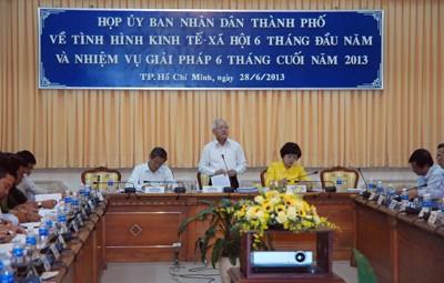 TPHCM: 6 tháng tăng trưởng kinh tế 7,9% ảnh 1