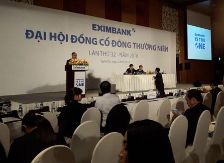 ĐHCĐ Eximbank kết thúc dở chừng ảnh 1