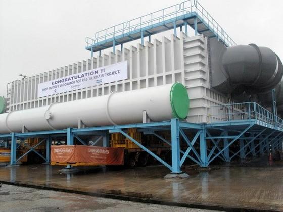Doosan Vina xuất khẩu thiết bị khử mặn 4.500 tấn ảnh 1
