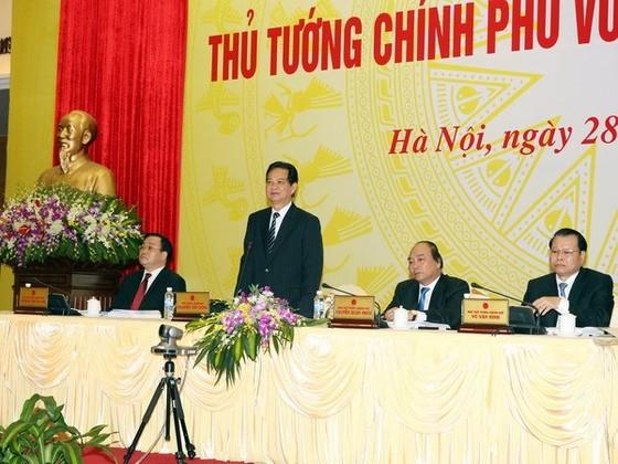 Hội nghị Thủ tướng Chính phủ với DN 2014 ảnh 1