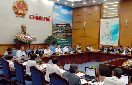 Chính phủ họp phiên thường kỳ tháng 3-2014 ảnh 1