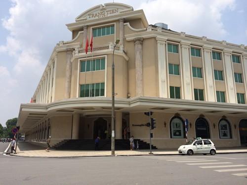 Trung tâm thương mại nhìn từ Tràng Tiền Plaza ảnh 1