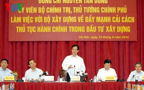 Yêu cầu Bộ Xây dựng cải cách thủ tục hành chính ảnh 1