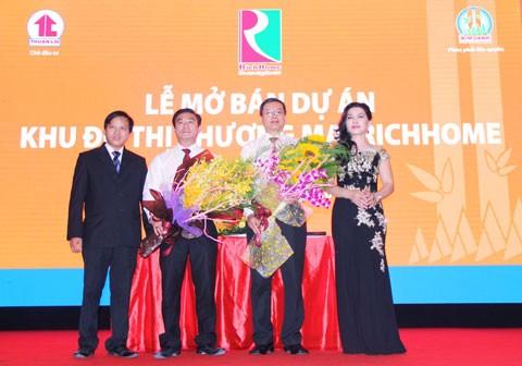 Kim Oanh bán 272 căn nhà phố thương mại RichHome ảnh 1