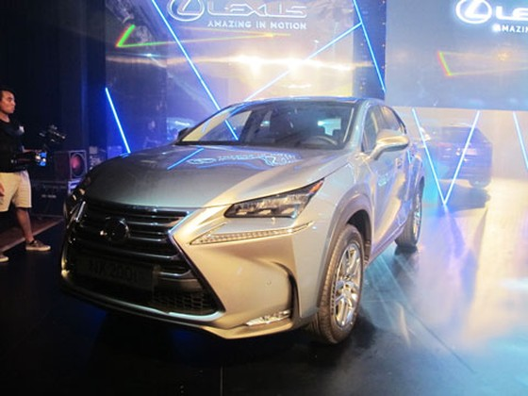 Lexus Việt Nam ra mắt mẫu xe mới ảnh 1