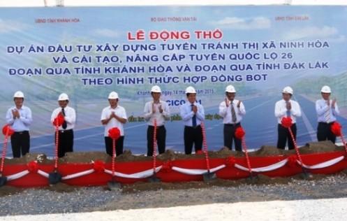 Khởi công tuyến nối Khánh Hòa-Tây Nguyên ảnh 1