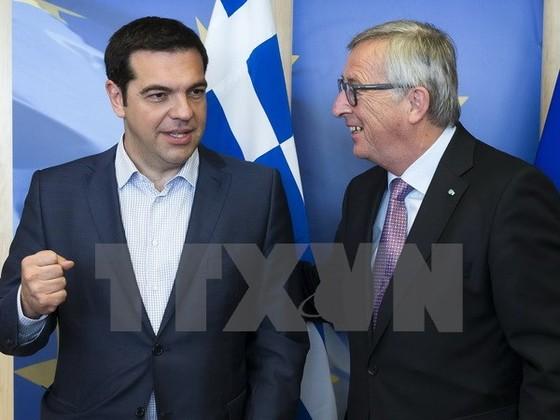 Thủ tướng Hy Lạp bước vào đàm phán với các chủ nợ ảnh 1