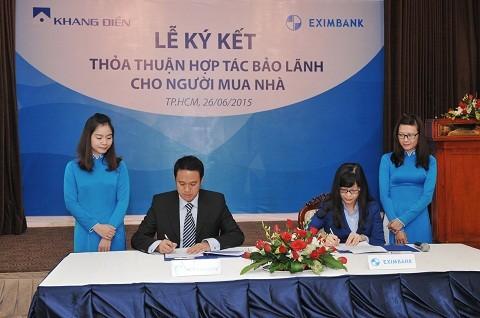 Eximbank bảo lãnh các dự án của Khang Điền ảnh 1