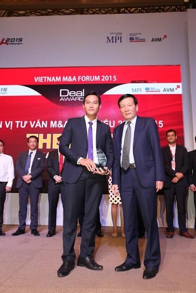 BVSC đoạt giải thưởng về M&A ảnh 1