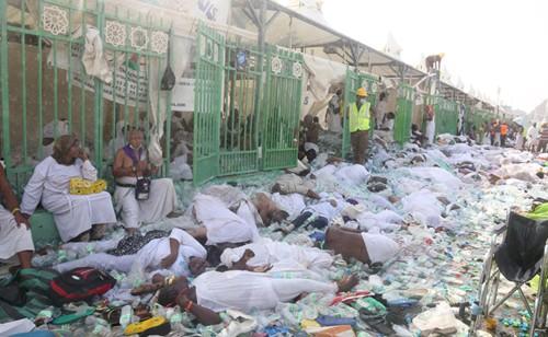 Giẫm đạp gần thánh địa Mecca, hơn 700 người chết ảnh 1