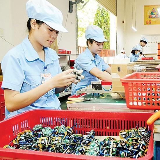 Công nghiệp điện tử: Miếng ngon DN ngoại ảnh 1