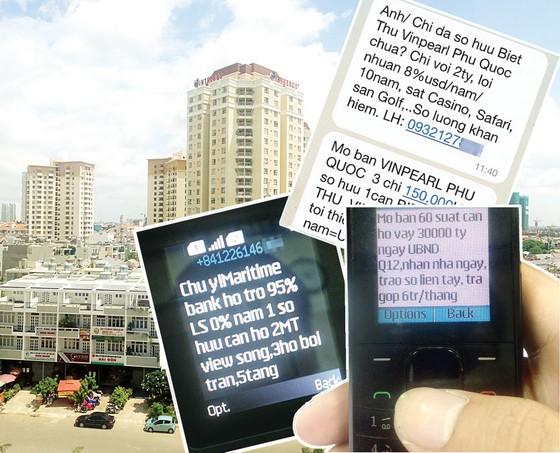 Loạn tin nhắn quảng cáo bất động sản ảnh 1