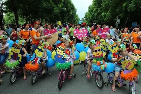 Lễ hội hóa trang xe đạp ảnh 1