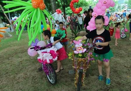 Lễ hội hóa trang xe đạp ảnh 5