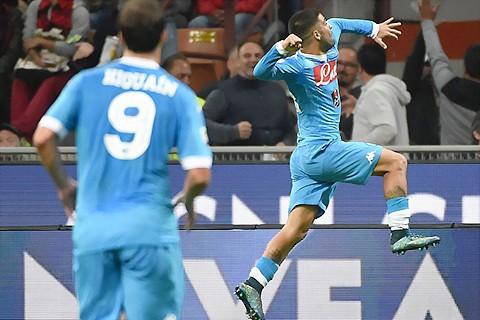 AC Milan 0-4 Napoli: Insigne lập cú đúp, Napoli gây sốc ảnh 1