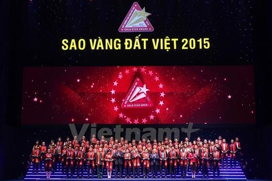 Tôn vinh 200 DN đạt giải Sao Vàng đất Việt ảnh 1