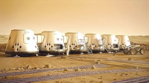 Thuộc địa sao Hỏa ảnh 1