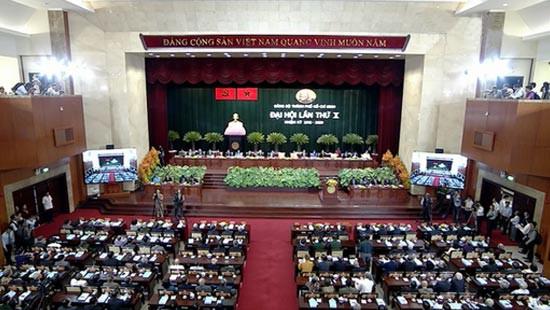 Khai mạc Đại hội đại biểu Đảng bộ TPHCM lần thứ X ảnh 1