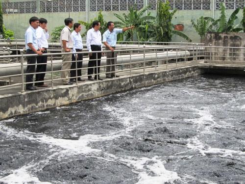 Cảnh báo ô nhiễm môi trường KCN dệt may ảnh 1