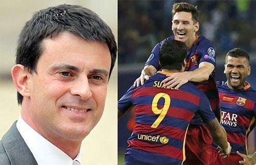 Thủ tướng Pháp chào đón Barca sang Ligue 1 ảnh 1