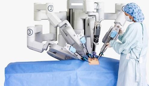 Robot phẫu thuật ung thư đại trực tràng ảnh 1