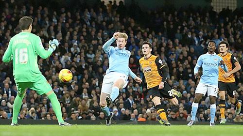 Vùi dập Hull City 4-1, Man City vào Bán kết cúp Liên đoàn ảnh 1