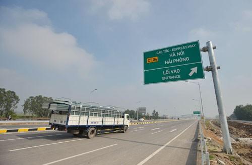 Hôm nay thông xe toàn tuyến cao tốc Hà Nội–Hải Phòng ảnh 7