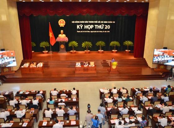 Khai mạc kỳ họp thứ 20 HĐND TPHCM khóa 8 ảnh 1